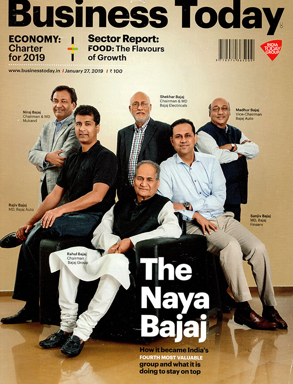 Bajaj Group becomes fourth biggest group in India